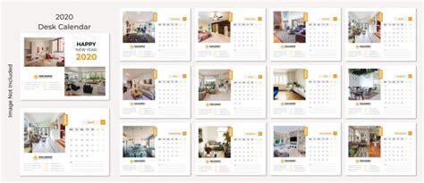 desk calendar  vector premium
