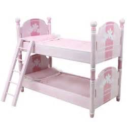 18 Doll Bunk Bed 18 Inch Doll Bunk Bed Doll Bedding Ladder Doll Furniture For 18 Inch American Dolls