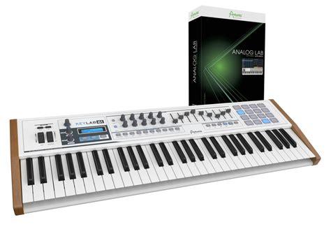 Arturia Keylab 61 arturia keylab 61 midi controller synth collection