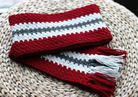 vertical striped scarf knitting pattern 17 best images about crochet patterns on pinterest free