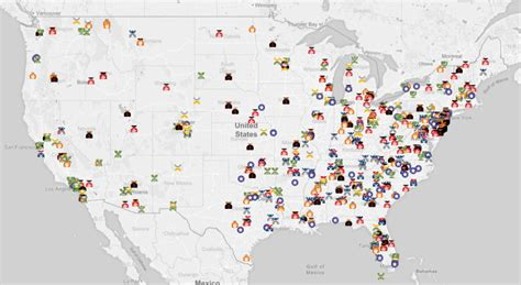 map us hate groups this map shows where active u s hate groups operate