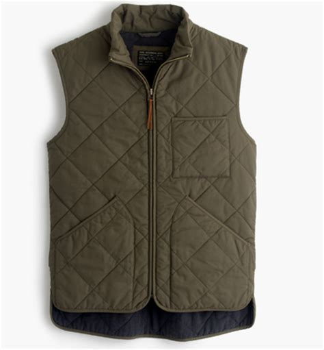Mens Quilted Vests by Mens Quilted Vest Fall Coat Jcrew 2016 2015 Hispotion