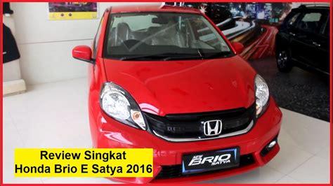 Emblem Mobil Honda Type R Putih Merah honda brio e satya 2016 warna merah review singkat