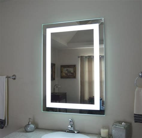 lighted mirrors for bathrooms modern lighted medicine cabinet bathroom mirror cabinet and