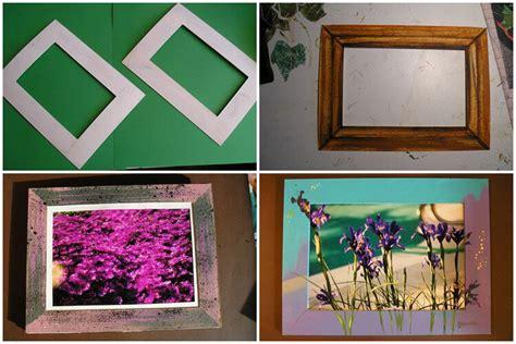 kerajinan membuat pigura dari kardus cara buat bingkai foto cara membuat kerajinan tangan