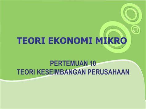 Buku Pengantar Ilmu Ekonomi Mikro Dan Makro moveblogs