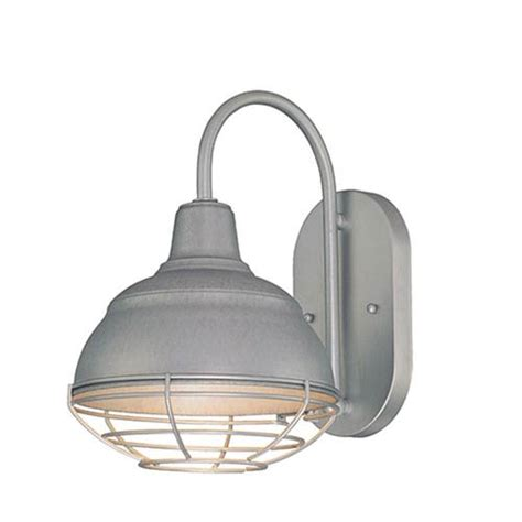 Outdoor Galvanized Lighting R Series Galvanized One Light Outdoor Wall Bracket Millennium Lighting Wall Mounted
