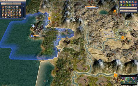 civilization 4 world map world map scenario israel s colony in california image