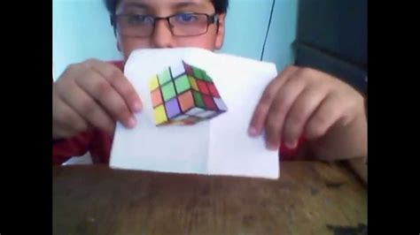 tutorial gambar rubik 3d ilusion optica cubo de rubik en 3d tutorial youtube