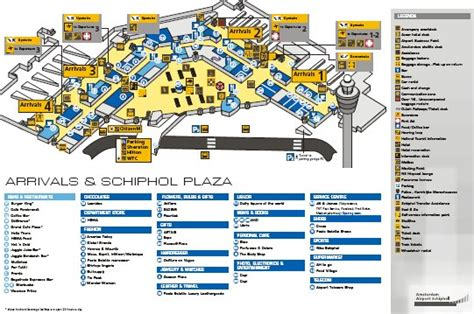 International Airport Floor Plan by Schiphol Airport Map Free Downloadable Map Of Amsterdam