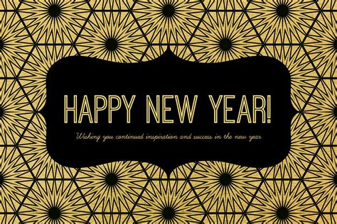 Happy New Year Business Card Template by Happy New Year Card Messages Picmonkey