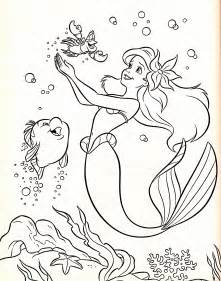 Ariel As Tinkerbell Colouring Pages sketch template