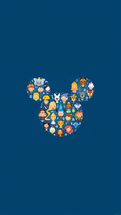 wallpaper cute for iphone 6 ah22 disney art character cute illust papers co