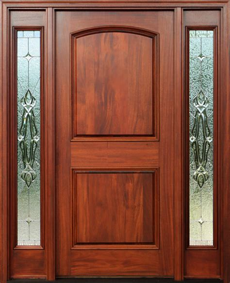 How To Stain An Exterior Wood Door Mahogany Doors With Sidelights Pre Finished