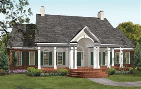 one story colonial house plans one story southern house plans smalltowndjs