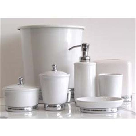 white ceramic bathroom accessories white york accessories