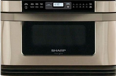 sharp kb 6001ns refurbished insight series 24 quot microwave