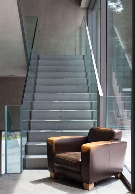 barandillas de cristal para escaleras interiores escaleras de cristal para la decoraci 243 n de interiores