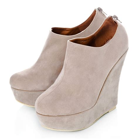 high heel boots wedges wedge high heeled platform ankle shoes boots