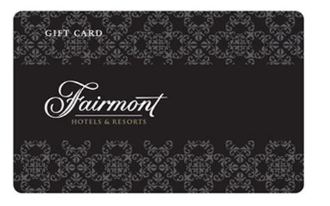 Fairmont Gift Cards - magic of miles earn up to 400 in free gift cards with fairmont magic of miles