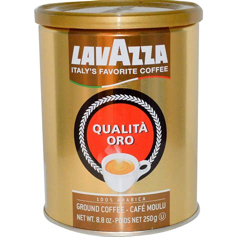 espresso ground coffee lavazza premium coffees qualit 224 oro ground coffee 8 8