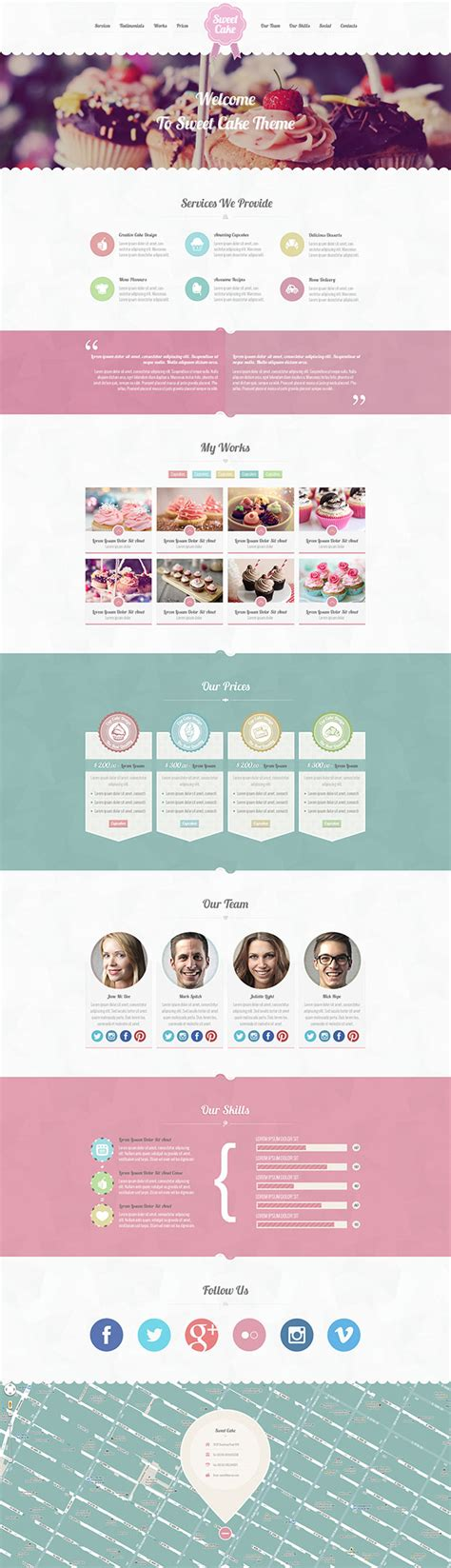 wordpress themes design inspiration 9 of the best wordpress themes for bakeries 2016 athemes