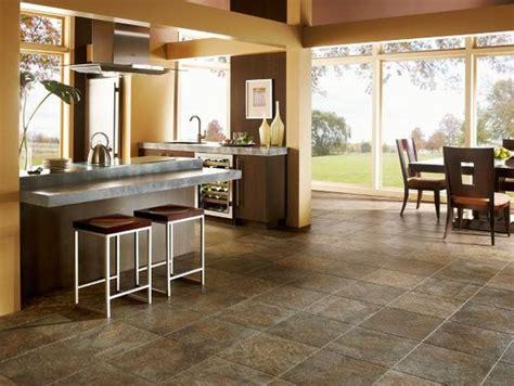 Luxury vinyl slate look tile  looks like stone, but
