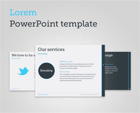 Minimalist Powerpoint Template 20 minimalist powerpoint templates to impress your
