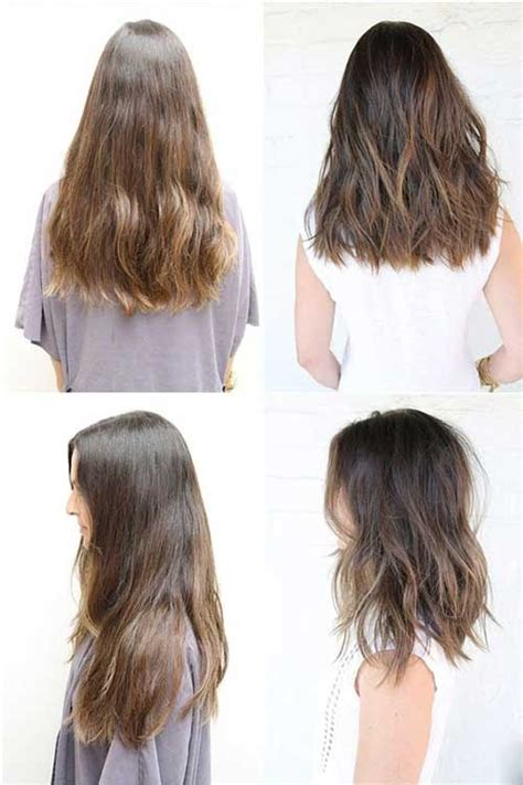 mid length hair cuts longer in front best 25 medium long haircuts ideas on pinterest layered