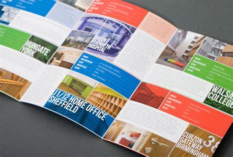 leaflet design chesterfield portfolio branding literature promotional website