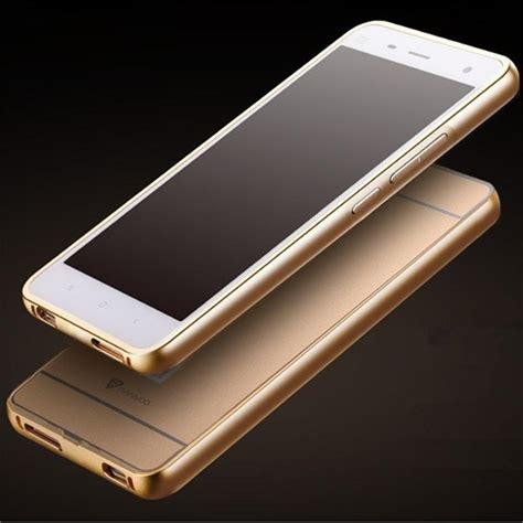 Xiaomi Mi4 Luxury Bumper Aluminium Mirror Back Cover Casing Alumu 1 ღ ƹ ӝ ʒ ღnew arrival for xiaomi mi4 metal aluminum acrylic ᗜ Lj back back
