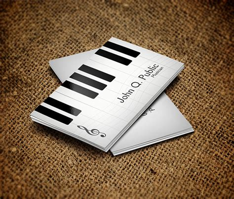 business card musician template find the right design for your business business