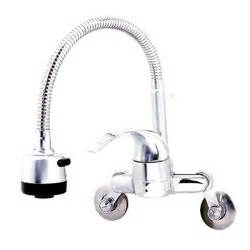 Wall Mounted Kitchen Sink Faucets Kitchen Faucet Taps Chrome Pull Out Wall Mount Sink Faucet