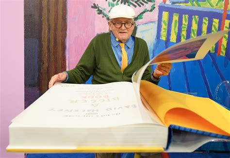 david hockney a bigger picture book artist david hockney at 79 isn t keen on but
