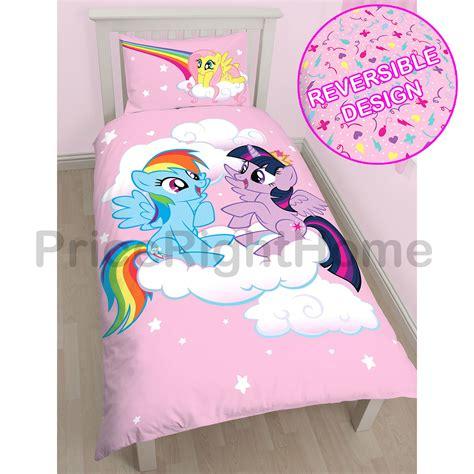 lenzuola letto singolo bambina my pony copripiumino per letto singolo set