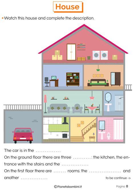 la della casa descrizione casa in inglese per bambini idea di casa