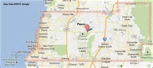 pasco county florida map
