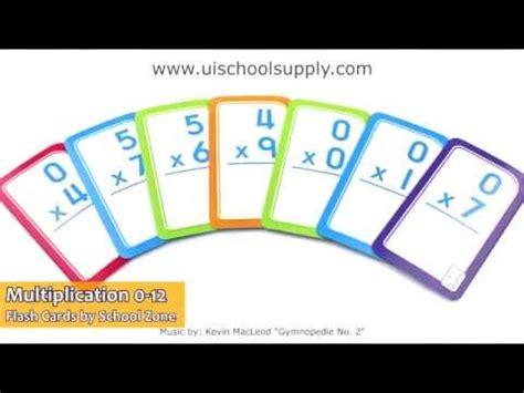 Flash Card Schoolzone 9 multiplication 0 12 flash cards by school zone szp04008