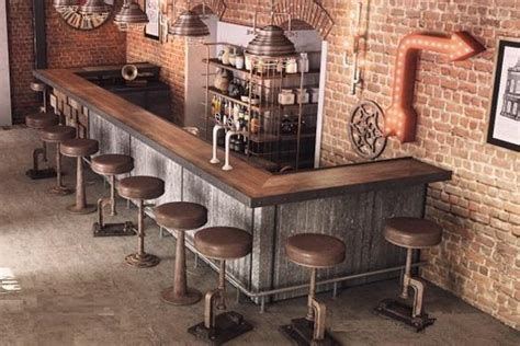 Home Decor Walls by 50 Elegant Industrial Style Home Bar Ideas Industville
