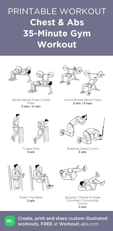 printable exercise program 175 best free printable workouts images on pinterest
