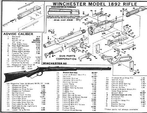 Winchester 9422 Parts Diagram