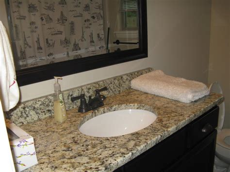 santa cecilia granite bathroom from the ground up our home building journey santa