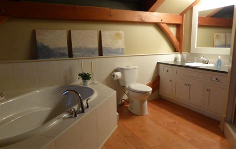 Custom Bathroom Furniture Timber Frame Home En Suite Welsey