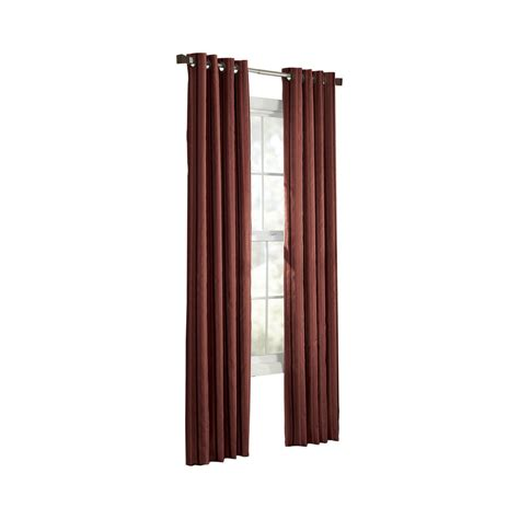 light filtering curtains shop allen roth city park 95 in sienna polyester grommet