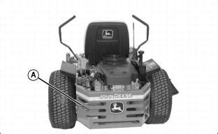 john deere model   turn mower parts