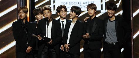 bts awards k pop boy group bts looks to future after billboard music
