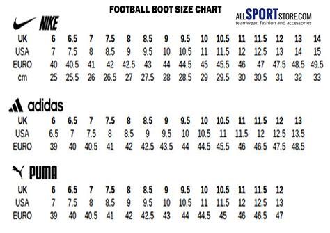 nike football shoes size chart nike football shoes size 47 style guru fashion glitz