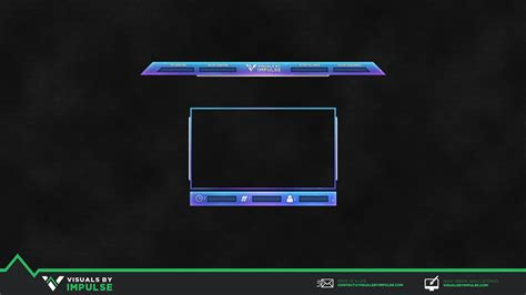 discord overlay obs free twitch stream overlay visuals by impulse