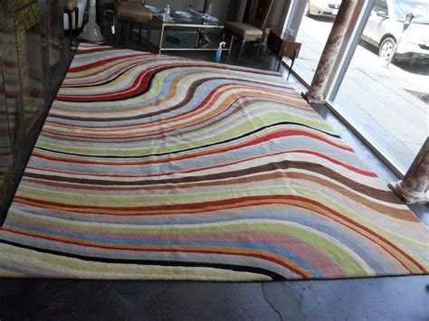 Paul Smith Rug by Colorful Paul Smith Quot Swirl Quot Rug At 1stdibs