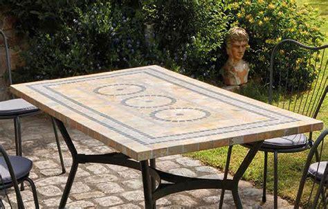 Table 6 Chaises by Table De Jardin Mosaique En 4 Ou 6 Chaises